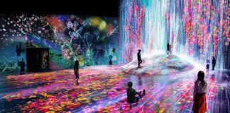 MORI Building Digital Art Museum. teamLab Borderless