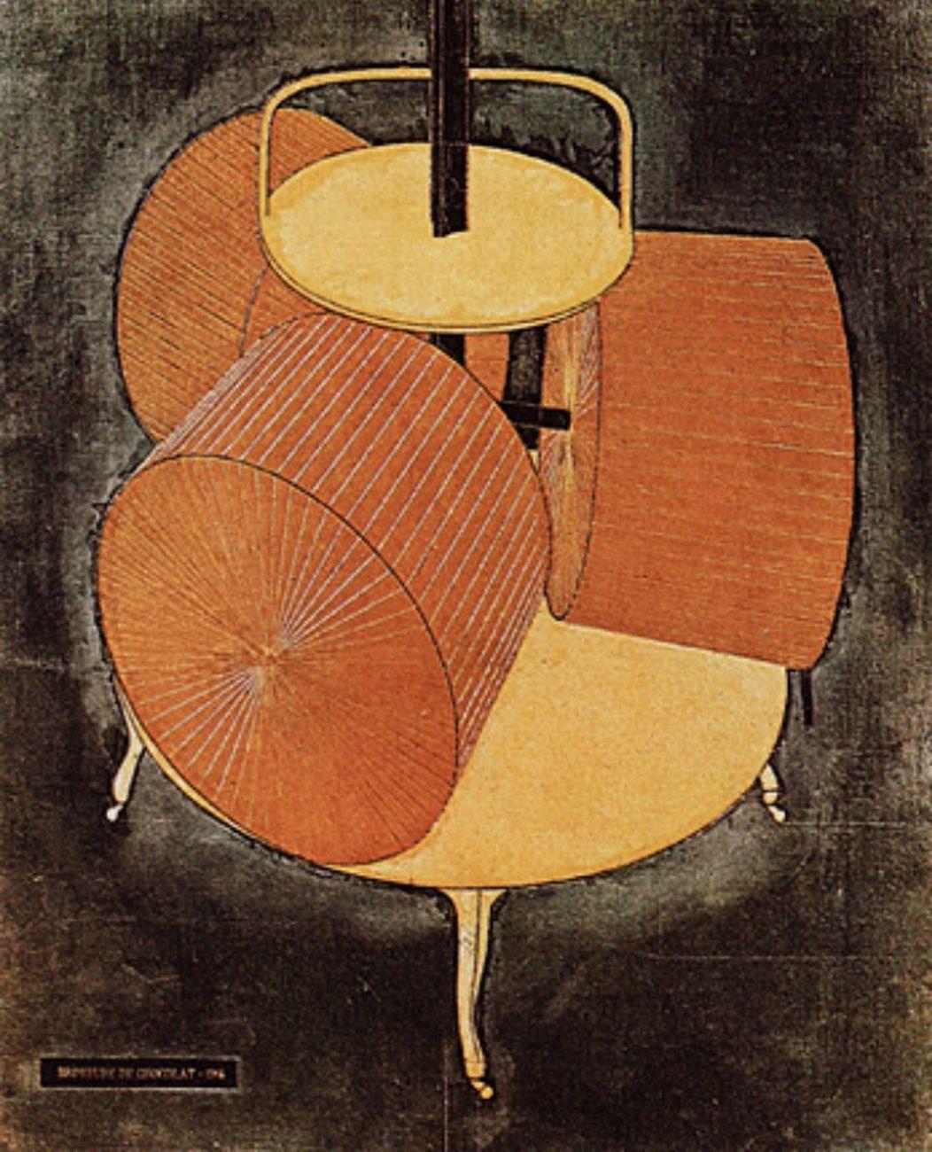 Marcel Duchamp, Broyeuse de Chocolat, 1913. Philadelphia, The Philadelphia Museum of Art