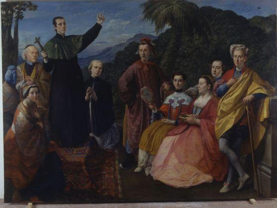 Marco Benefial, La famiglia del missionario. Roma, Gallerie Nazionali Barberini Corsini