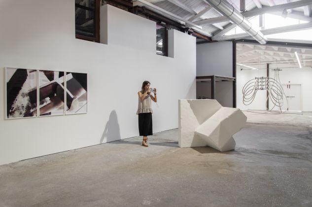 Marie Lelouche, exhibition view at Extedend architectures, Galleria Alberta Pane, Venezia 2018, photo Irene Fanizza