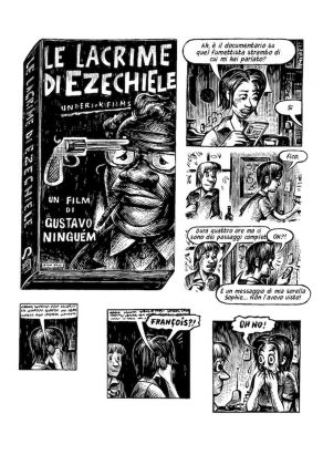 Matthias Lehmann ‒ Le lacrime di Ezechiele (001 Edizioni, Torino 2018)