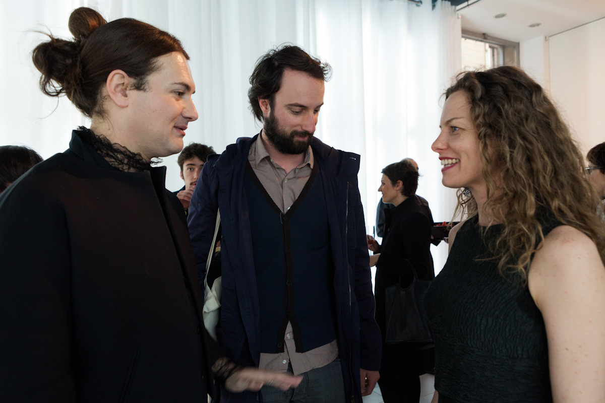 Milovan Farronato, Antonio Grulli e Sissi – foto Ela Bialkowska, Okno Studio