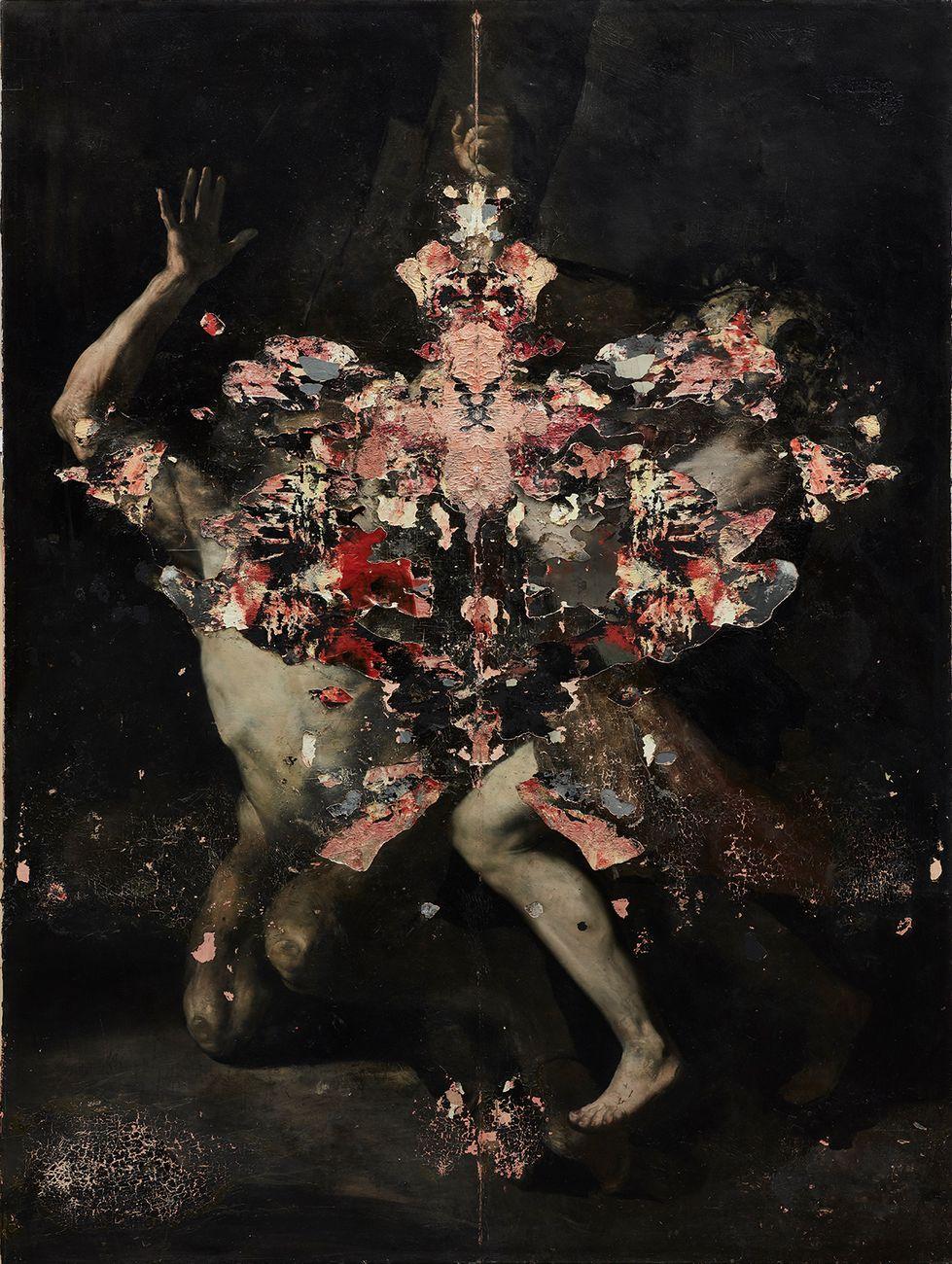 Nicola Samorì, Emanto, 2016. Courtesy EIGEN+ART, Berlino Lipsia