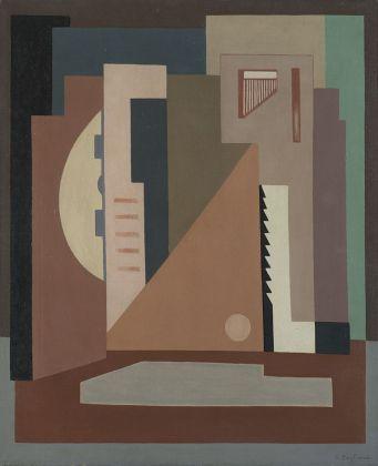 Oreste Bogliardi, Composizione n.10, 1934. Courtesy Il Ponte