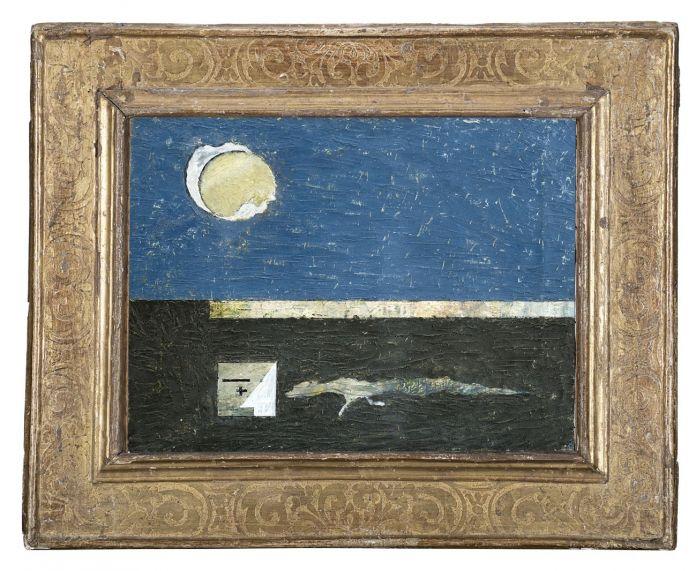 Osvaldo Licini, Notturno n.2, 1932. Courtesy Il Ponte