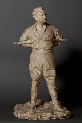 Paolo Troubetzkoy, Enrico Caruso nella 'Fanciulla del West', 1912. Museo del Paesaggio, Verbania