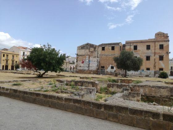 Piazza Magione, Palermo, photo Desirée Maida