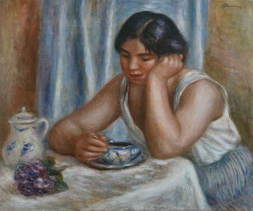 Pierre-Auguste Renoir, La Tasse de chocolat, 1912 ca. Philadelphia, Barnes Foundation