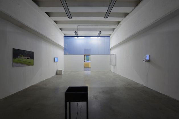Richard Loskot. Cosmology Model. Exhibition view at Galleria Boccanera, Trento 2018