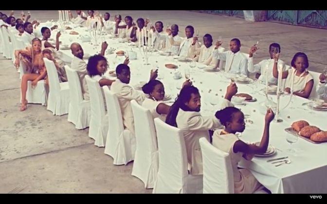Runaway di Kanye West, art director Vanessa Beecroft