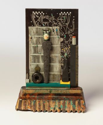 Betye Saar Guardian of Desires, 1988 (Back)Mixed media assemblage 10.75 x 7.25 x 2.75 in (27.3 x 18.4 x 7.0 cm)