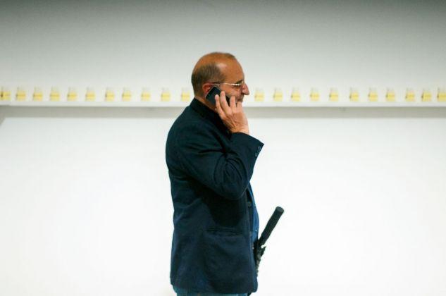 Sandro Greco & Giulio Ribezzo. Senza. Kunstschau Contemporary Place, Lecce 2018. Photo Grazia Amelia Bellitta