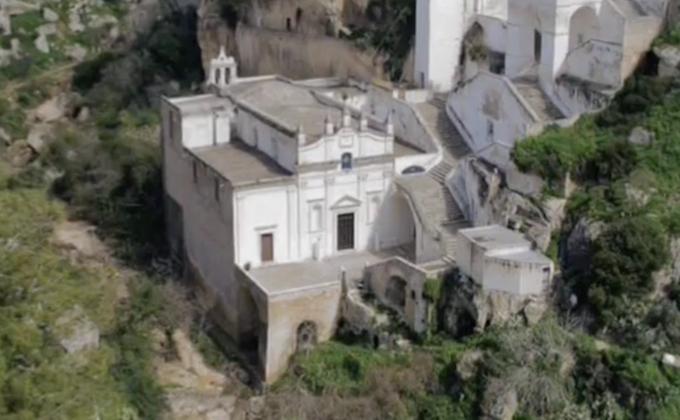Santuario Madonna della Scala, Massafra, Taranto. Tra i beni votati per i Luoghi del Cuore 2018
