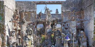 Santuario della Pazienza. Dettaglio, crediti Beppe Gernone, Soprintendenza, Bari