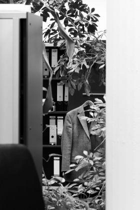 Saskia Groneberg, Untitled, dalla serie Büropflanze (office plant), 2012 © Saskia Groneberg, Prix Pictet 2017