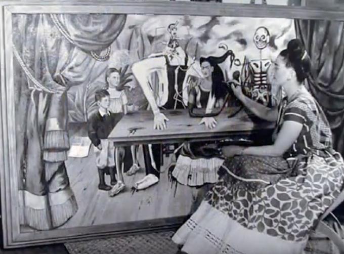 Frida Kahlo e La mesa herida