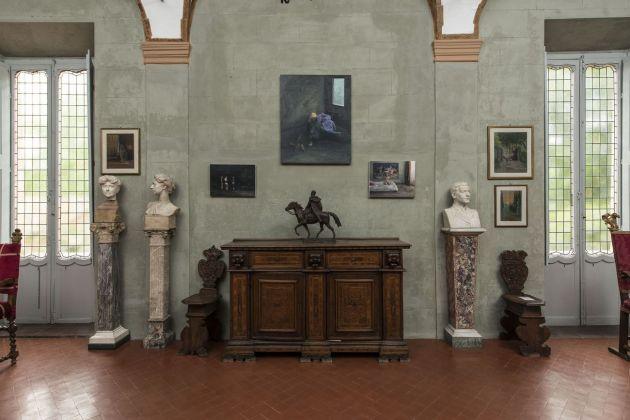 Serban Savu. Exhibition view at Museo Pietro Canonica, Roma 2018. Photo © Giorgio Benni