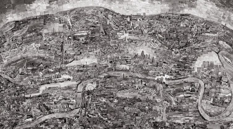 Sohei Nishino, Diorama Map London, 2010, dalla serie Diorama Map, 2010 16 © Sohei Nishino, Prix Pictet 2017