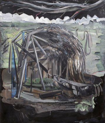 TA, Hybrid, Oil on canvas, 95x80cm, 2018
