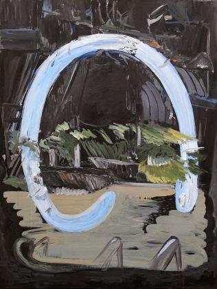 TA, Lido, Oil on canvas, 102x76cm, 2018