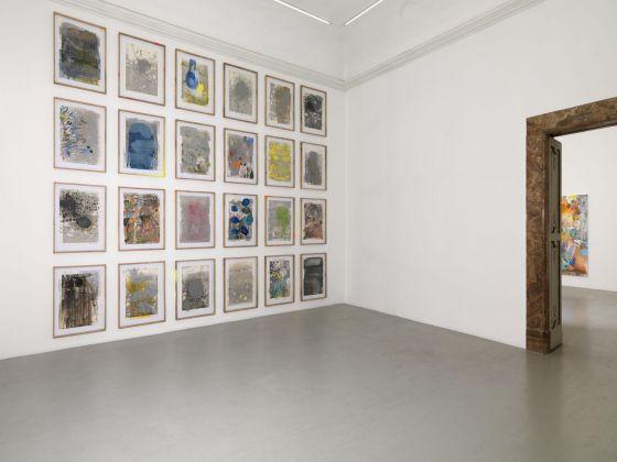 Ida Tursic & Wilfried Mille, Sunset e Pornografia, 2018, exhibition view at Galleria Alfonso Artiaco. Courtesy Galleria Alfonso Artiaco (Napoli), photo Luciano Romano