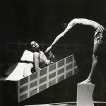 Tango glaciale, 1982, Napoli Teatro Nuovo (foto di C. Accetta)