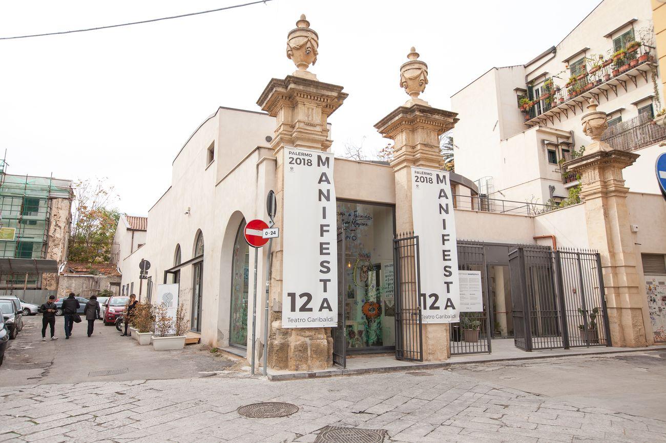 Teatro Garibaldi, Palermo (c) Manifesta. Photo CAVE Studio