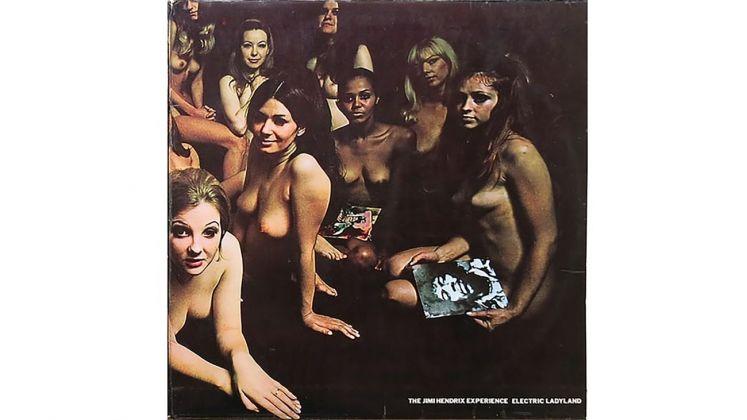 The Jimi Hendrix Experience, Electric Ladyland. Copertina censurata del vinile, 1968. Collezione privata