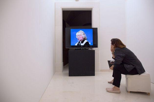 Tomaso Binga. Riflessioni a puntate. Installation view at Fondazione Studio Carrieri Noesi, Martina Franca 2018
