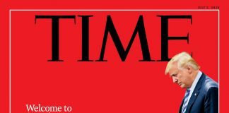 Trump sull'ultima cover del TIME