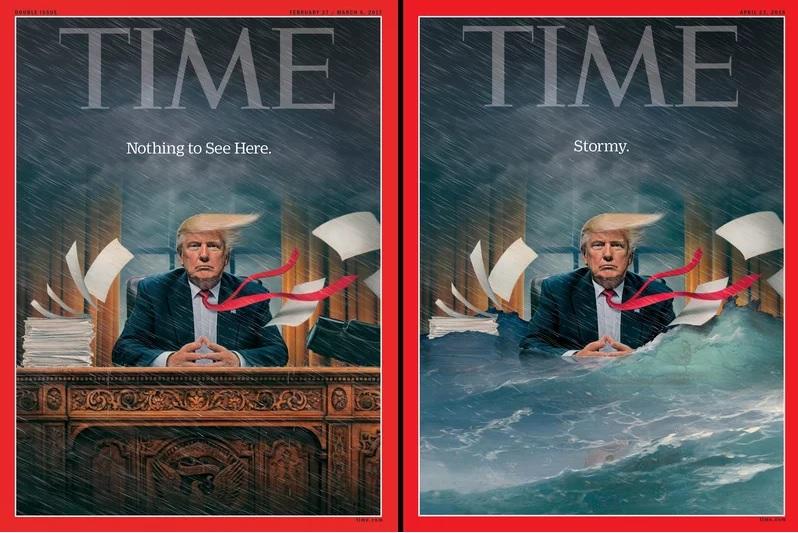 Trump sul TIME