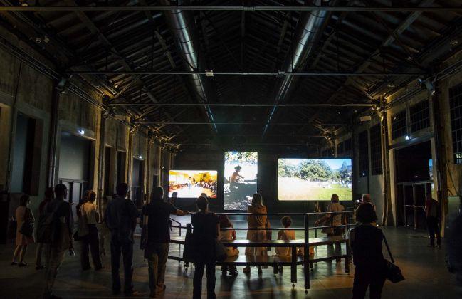 Video installazione di Davide Ferrario, Immagini Giorgio Perottino Getty Images for OGR