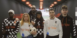 Virgil Abloh, Football, Mon Amour. Estate 2018. Photo credit Brett Lloyd. Courtesy of Nike
