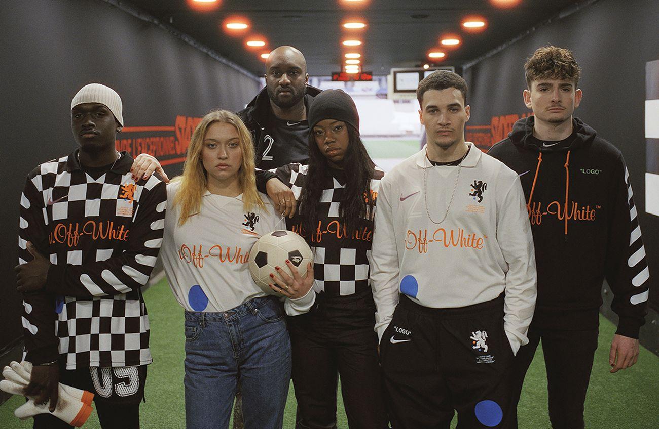 Kim Jones, Football Reimagined, 2018. Photo credit Brett Lloyd. Courtesy of Nike