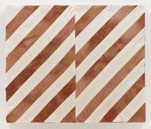 Yto Barrada, Untitled (After Stella, Tangier I), 2018. © Yto Barrada. Courtesy Pace Gallery & Sfeir-Semler Gallery, Amburgo-Beirut & Galerie Polaris, Parigi. Photo Mark Waldhauser
