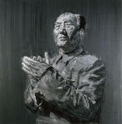 Yan Pei Ming, Mao, 2005. MAXXI – Museo nazionale delle arti del XXI secolo, Roma. Courtesy Fondazione MAXXI Yan Pei Ming, by SIAE 2018