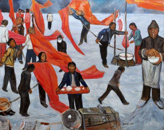 Yinchuan Biennale 2018. Duan Zhengqu, Festival, 2013. Courtesy the artist