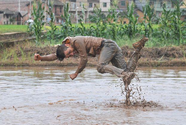 Yinchuan Biennale 2018. Li Binyuan, Freedom Farming,2014. Courtesy artist