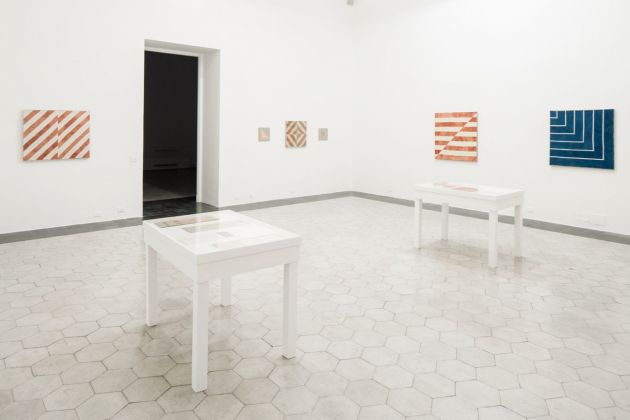 Yto Barrada. The Dye Garden. Exhibition view, American Academy in Rome, 2018. Courtesy Pace Gallery. Photo Altrospazio