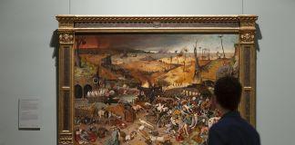 il trionfo della morte in sala - museo del Prado