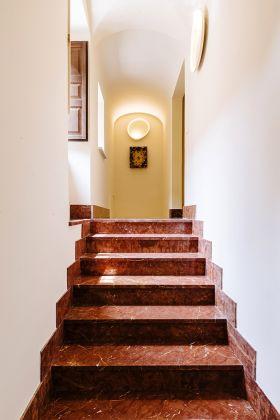 Entryway of Casa Panitteri, Edoardo Piermattei model © Piotr Niepsuj