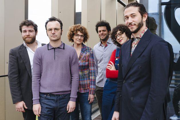 Team portrait, from the left: Edoardo Piermattei, Domenico Rocca, Federica Sala, Lorenzo Vitturi, Olim- pia Zagnoli, Alberto Nespoli © Piotr Niepsuj