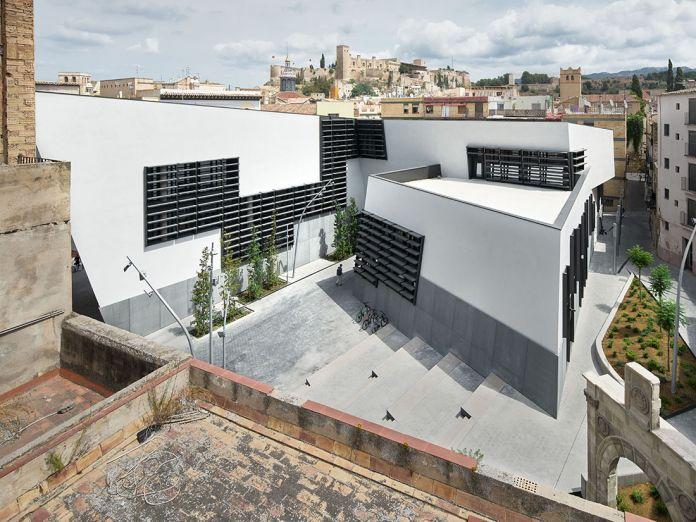 Estudio Carme Pinós, Tortosa Headquarter ©J.Arenas