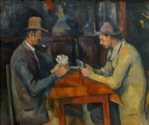 Paul Cézanne (1839 1906) The Card Players, around 1892-1896 Oil on canvas 60 x 73 cm The Courtauld Gallery (The Samuel Courtauld Trust), London