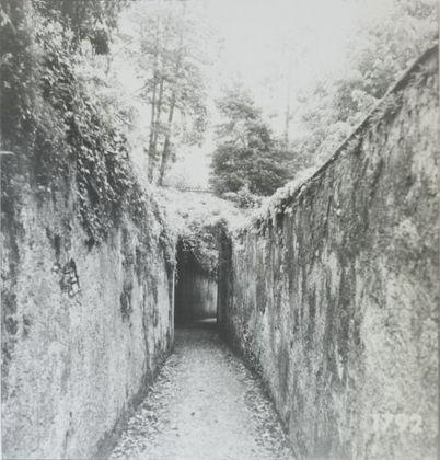 Aldo Tagliaferro, Identificazione di una variabile oggettiva temporale, 1973. Courtesy Osart Gallery, Milano. Photo courtesy Max Pescio