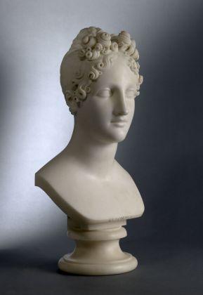 Antonio Canova, Eleonora d'Este, 1819. Brescia, Pinacoteca Tosio Martinengo © Fondazione Brescia Musei
