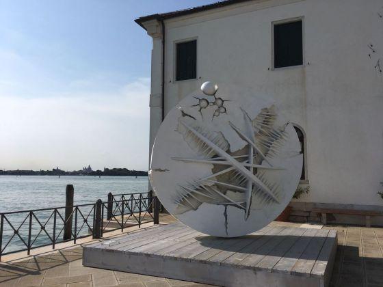 Arnaldo Pomodoro, Il disco in forma di Rosa del deserto. San Servolo, Venezia