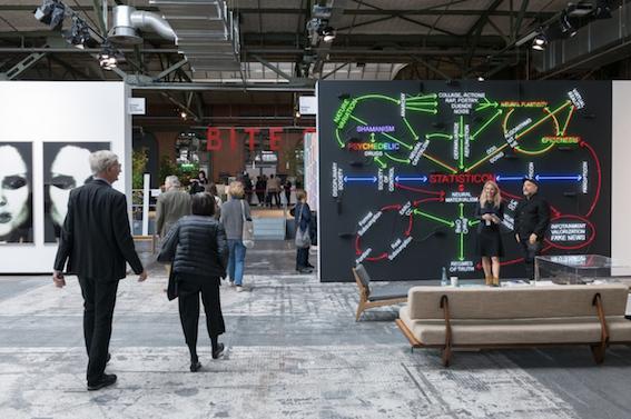 Art Berlin 2017. Photo Stefan Korte