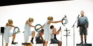 Biennale Danza di Venezia 2018. Bacchae. Prelude to a purge. Coreografia di Marlene Monteiro Freitas. Photo © Andrea Avezzù
