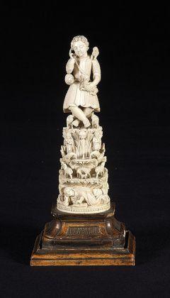 Buon Pastore, Goa, XVII o XVIII sec. Museo Diocesano, Mantova. Photo credits Publi Paolini, Mantova e Massimo Listri